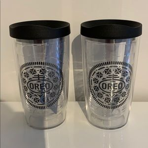 Brand New Oreo Tervis Double Walled Tumblers